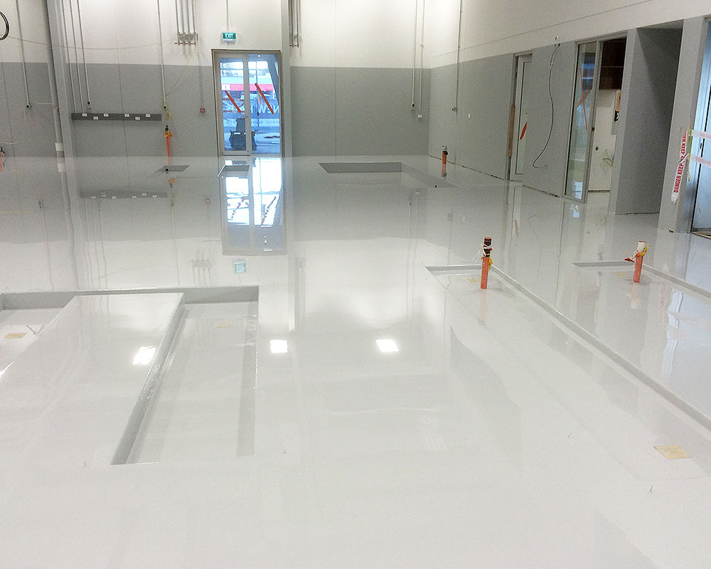Automotive and Engineering Workshops - Flooring Solutions