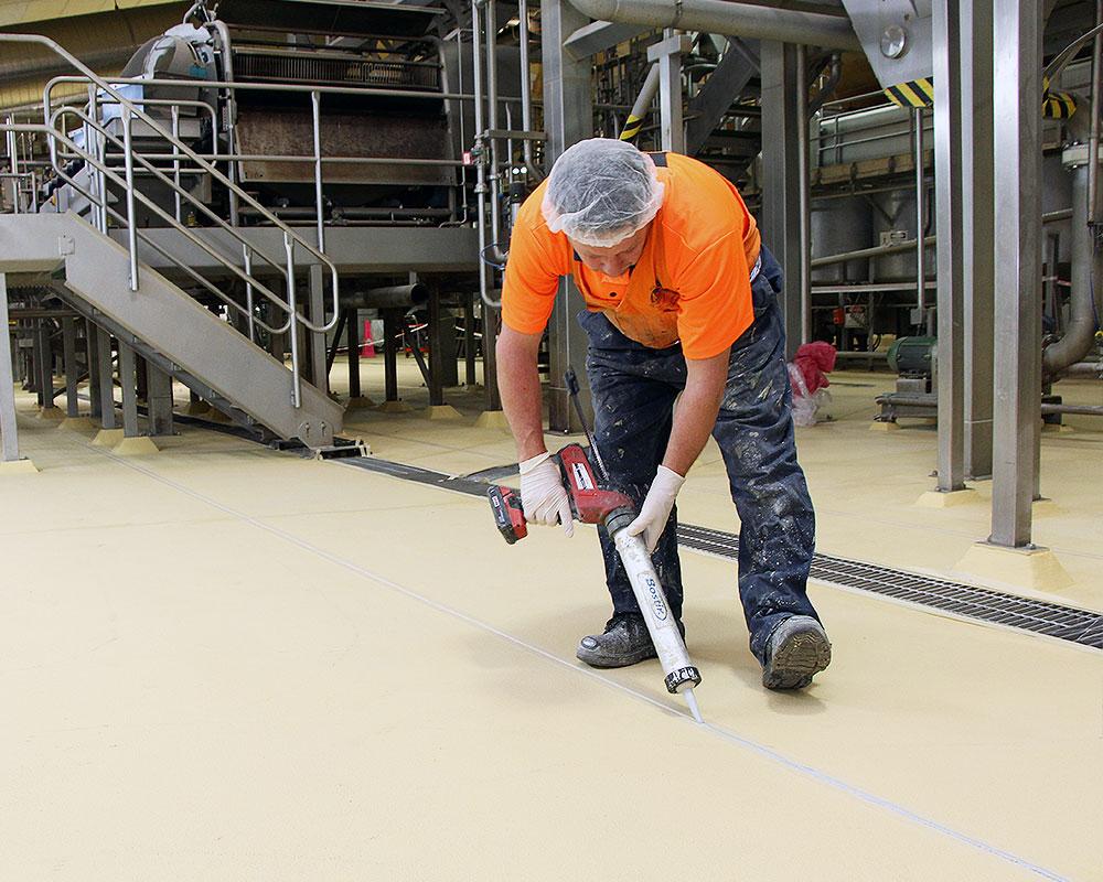 Food Processing Flooring