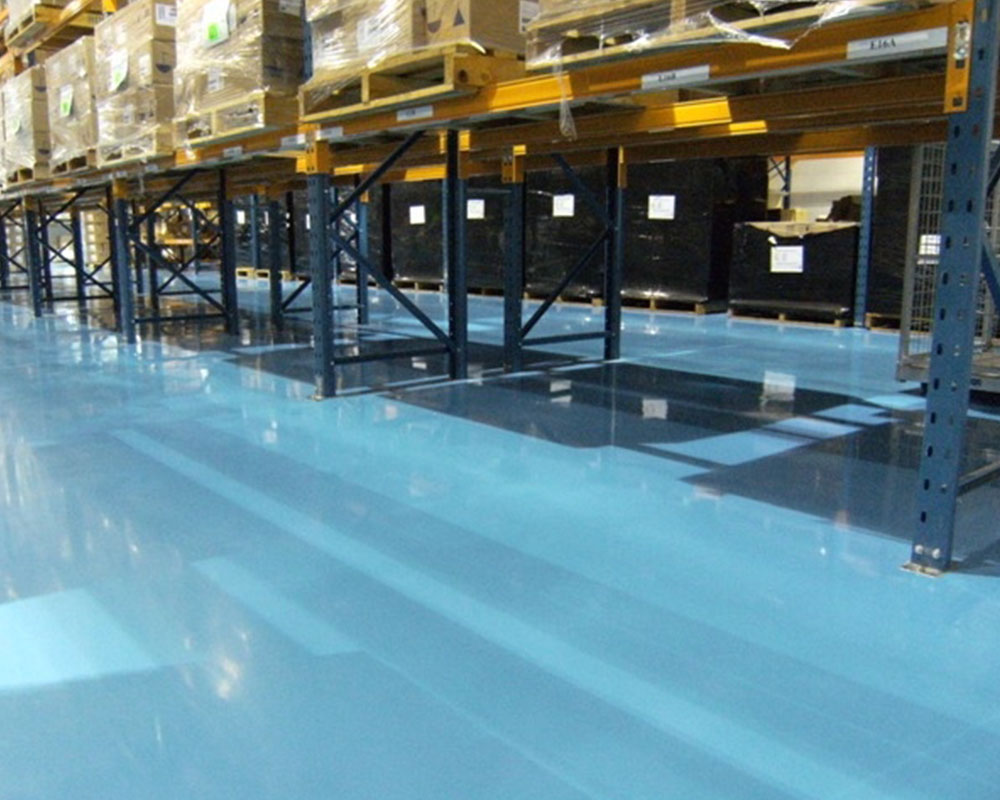 Warehouses, Loading Bays & Ramps - Flooring Solutions